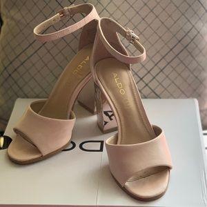 Aldo Baby Pink Nilia Shoe